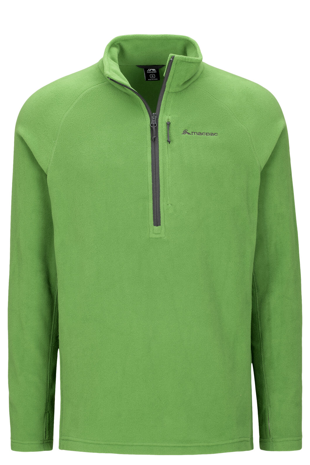 Macpac Tui Polartec® Micro Fleece® Pullover — Men's, Juniper, hi-res