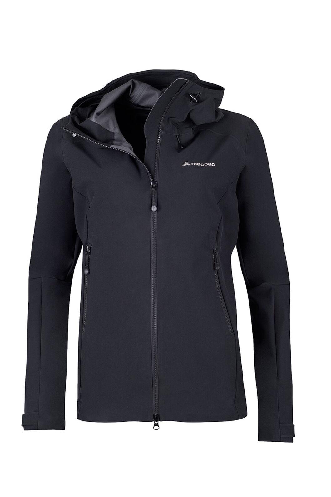 Macpac Fitzroy Alpine Series Softshell Jacket - Women's, Black, hi-res
