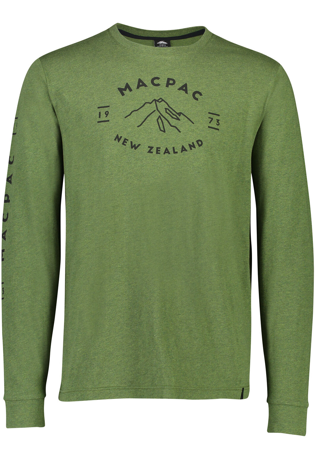Macpac Long Sleeve Tee - Men's, Rifle Green, hi-res