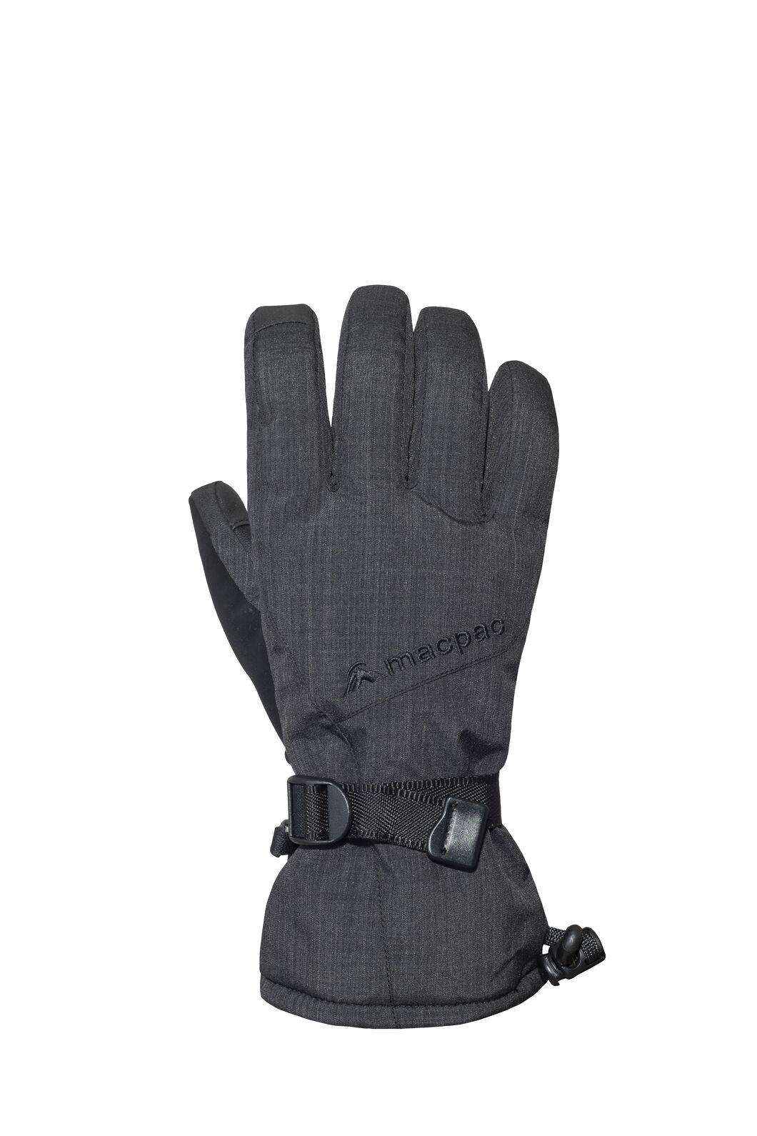 Macpac Carve Gloves, Black, hi-res