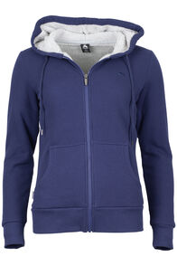 Waffle Sherpa Hoody - Women's, Astral, hi-res