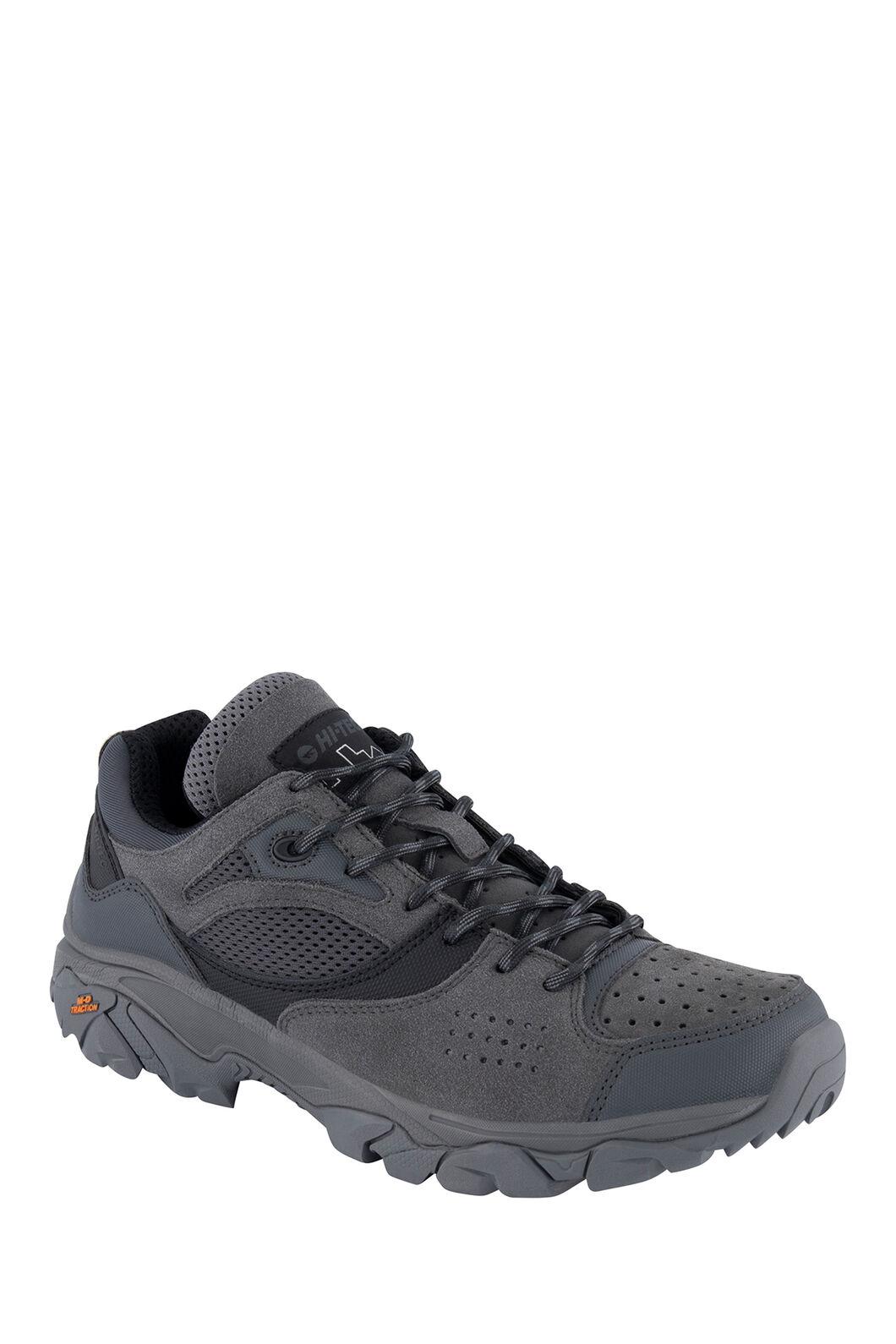 Hi-Tec Nouveau Traction WP Hiking Shoes — Men's, Black/Charcoal, hi-res