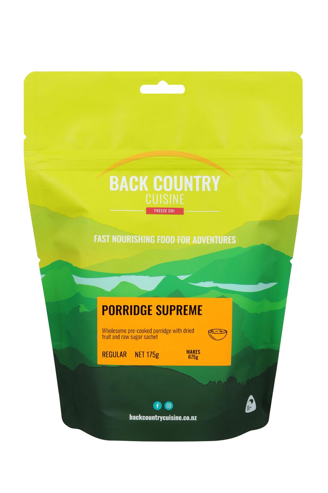 Back Country Porridge Supreme — Regular Serve, None, hi-res