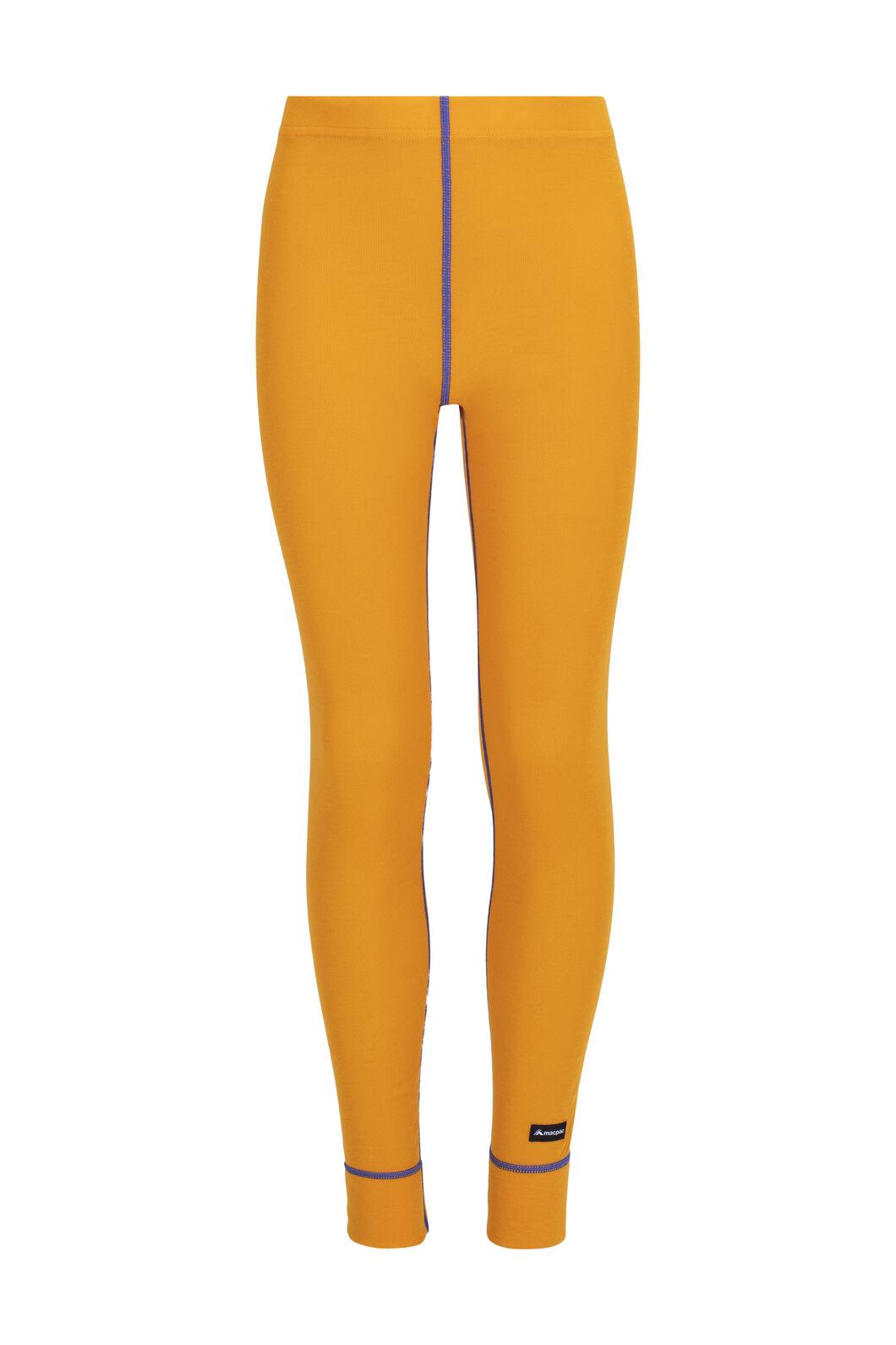 Macpac Geothermal Pants — Kids', Cadmium Yellow, hi-res
