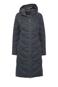 Macpac Women's Twilight Down Coat, Carbon, hi-res