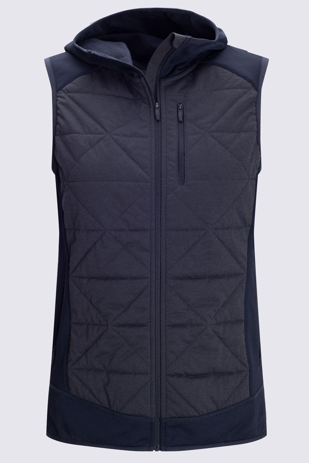 Macpac Women's Accelerate PrimaLoft® Fleece Vest, Black, hi-res