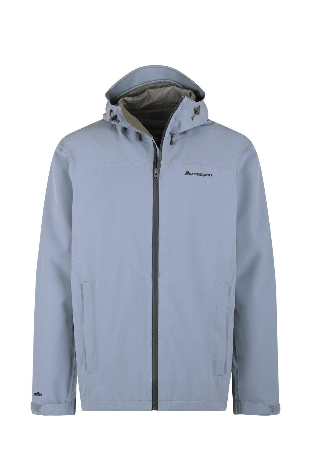 Macpac Dispatch Rain Jacket - Men's, Flint Stone, hi-res