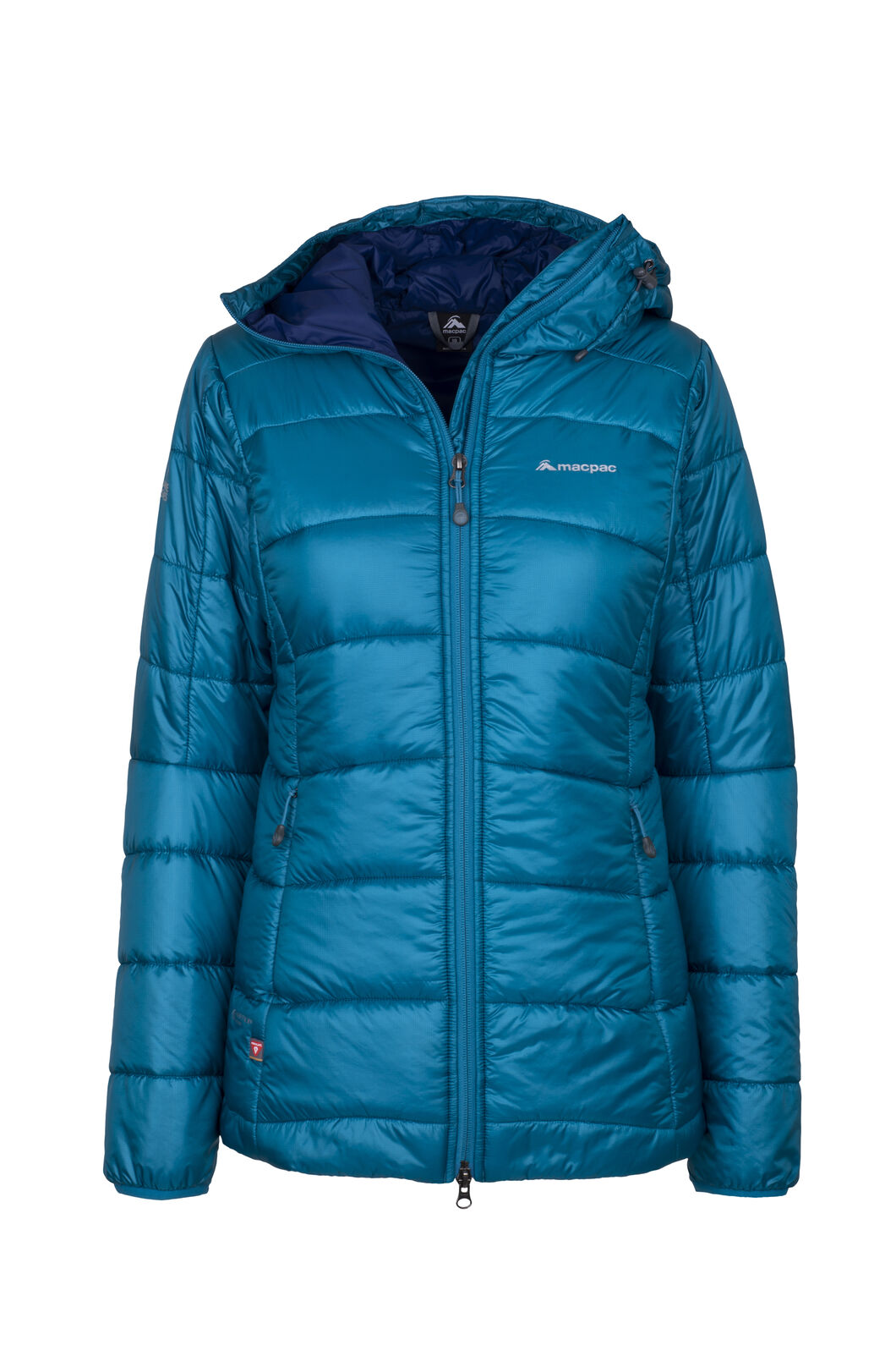 Macpac Pulsar Plus PrimaLoft® Hooded Jacket - Women's, Ocean Depths, hi-res
