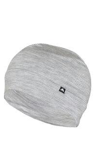 Macpac 150 Merino Beanie, Light Grey Stripe, hi-res