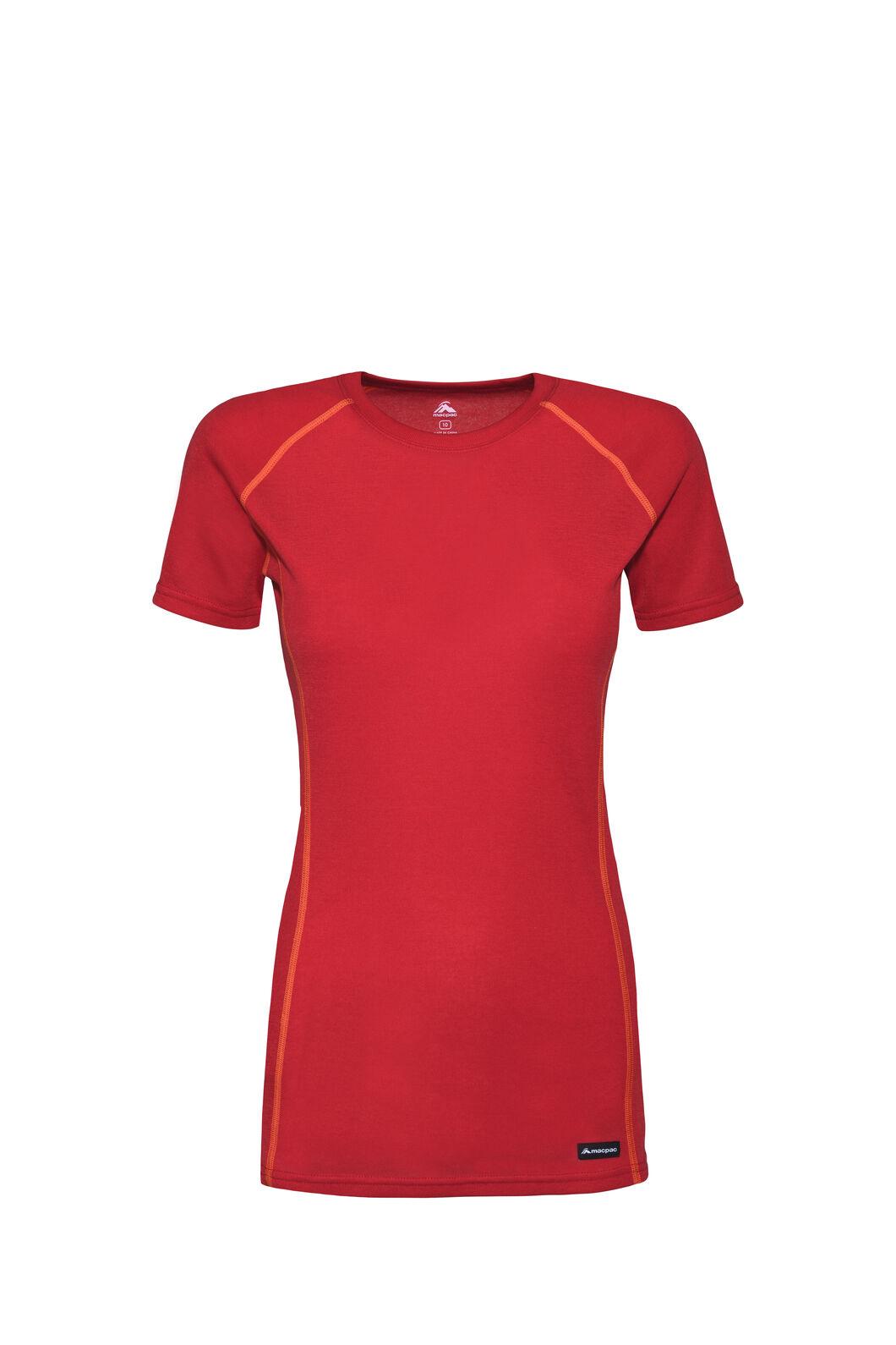 Macpac Geothermal Short Sleeve Top — Women's, Lollipop, hi-res