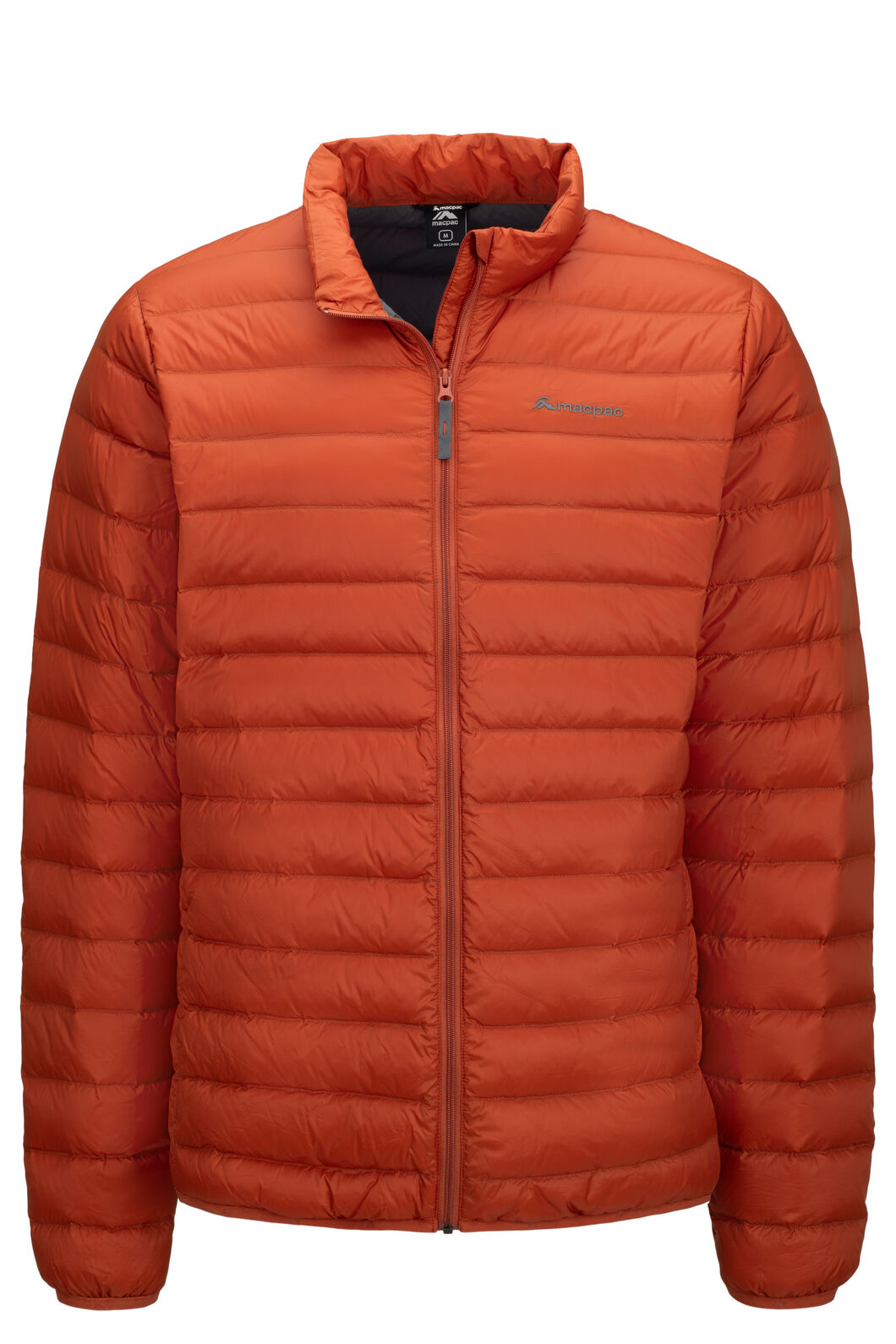 Macpac Uber Light Down Jacket — Men's, Picante, hi-res