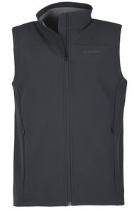 Sabre Softshell Vest - Men's, Black, hi-res