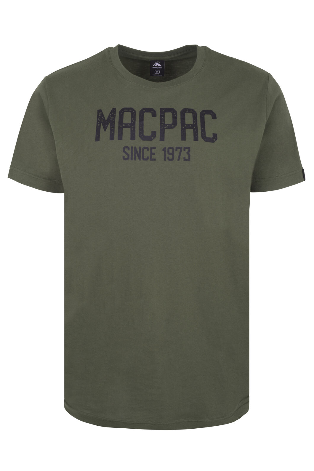 Macpac Freshman Organic Cotton Tee - Men's, Grape Leaf, hi-res