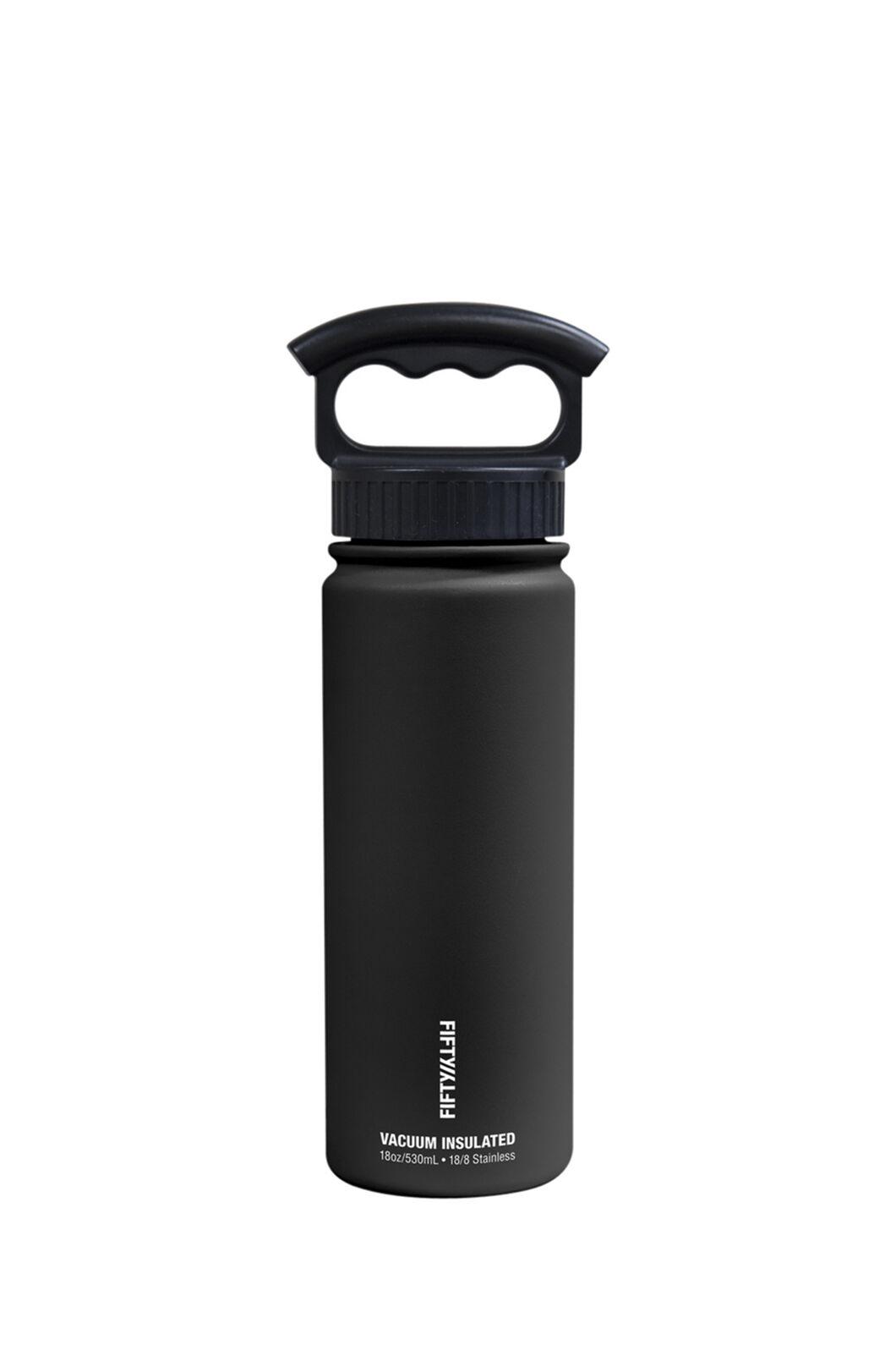 FIFTY/FIFTY® 18oz Insulated Bottle, Matt Black, hi-res