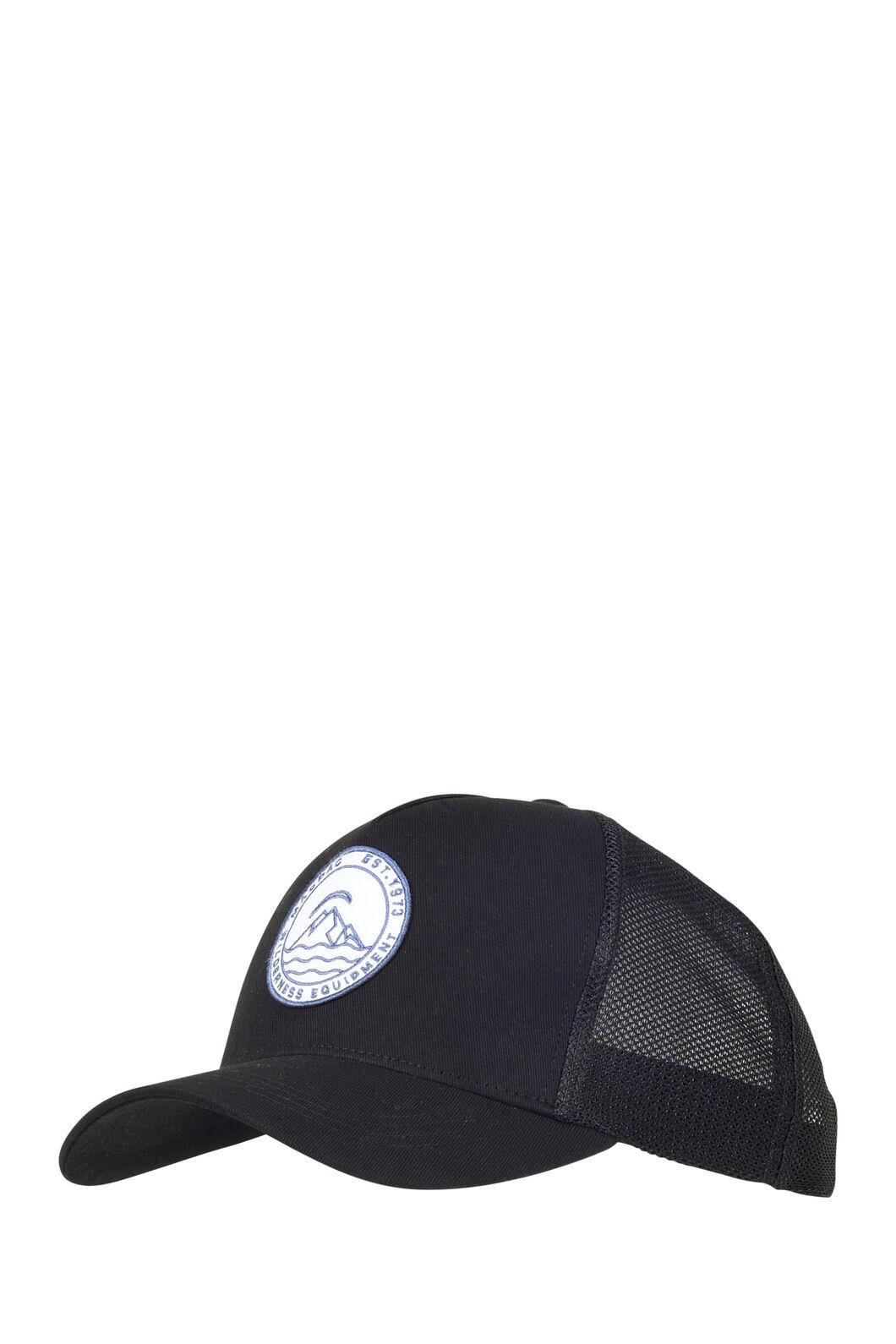 Macpac Trucker Cap, Black, hi-res