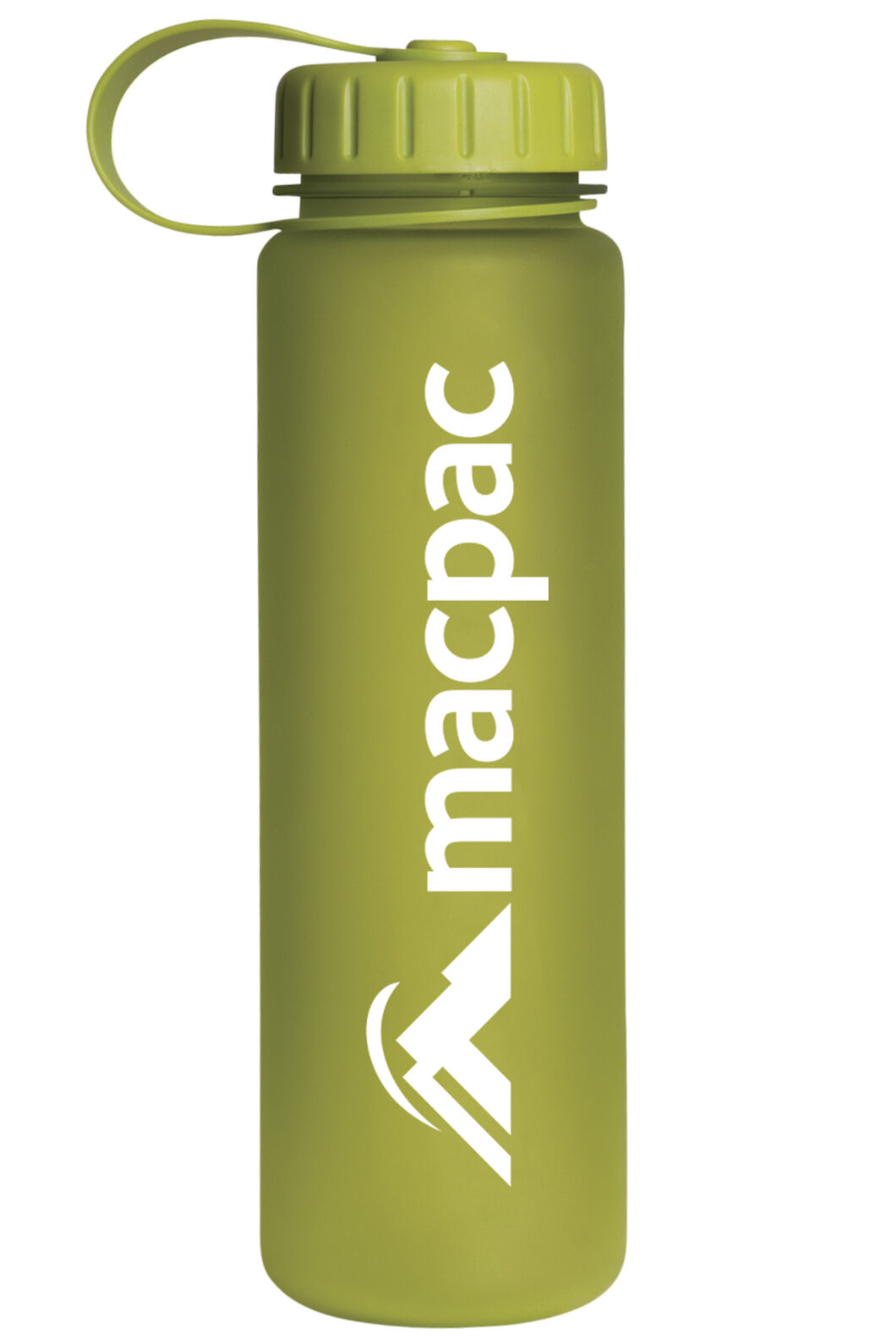 Macpac Soft Touch Water Bottle 600mL, Green, hi-res