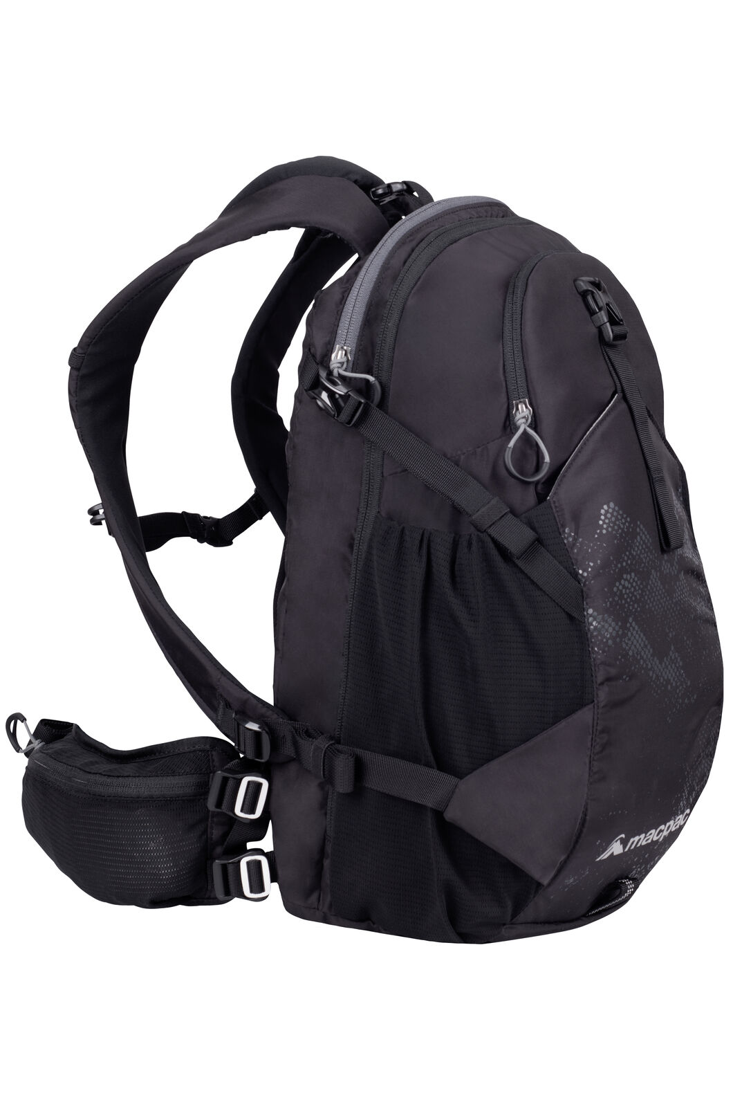 Macpac Mountain Bike 18L Pack, Black, hi-res