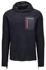 Macpac Nitro Polartec® Alpha® Pullover — Men's, Black/Flame Scarlet, hi-res