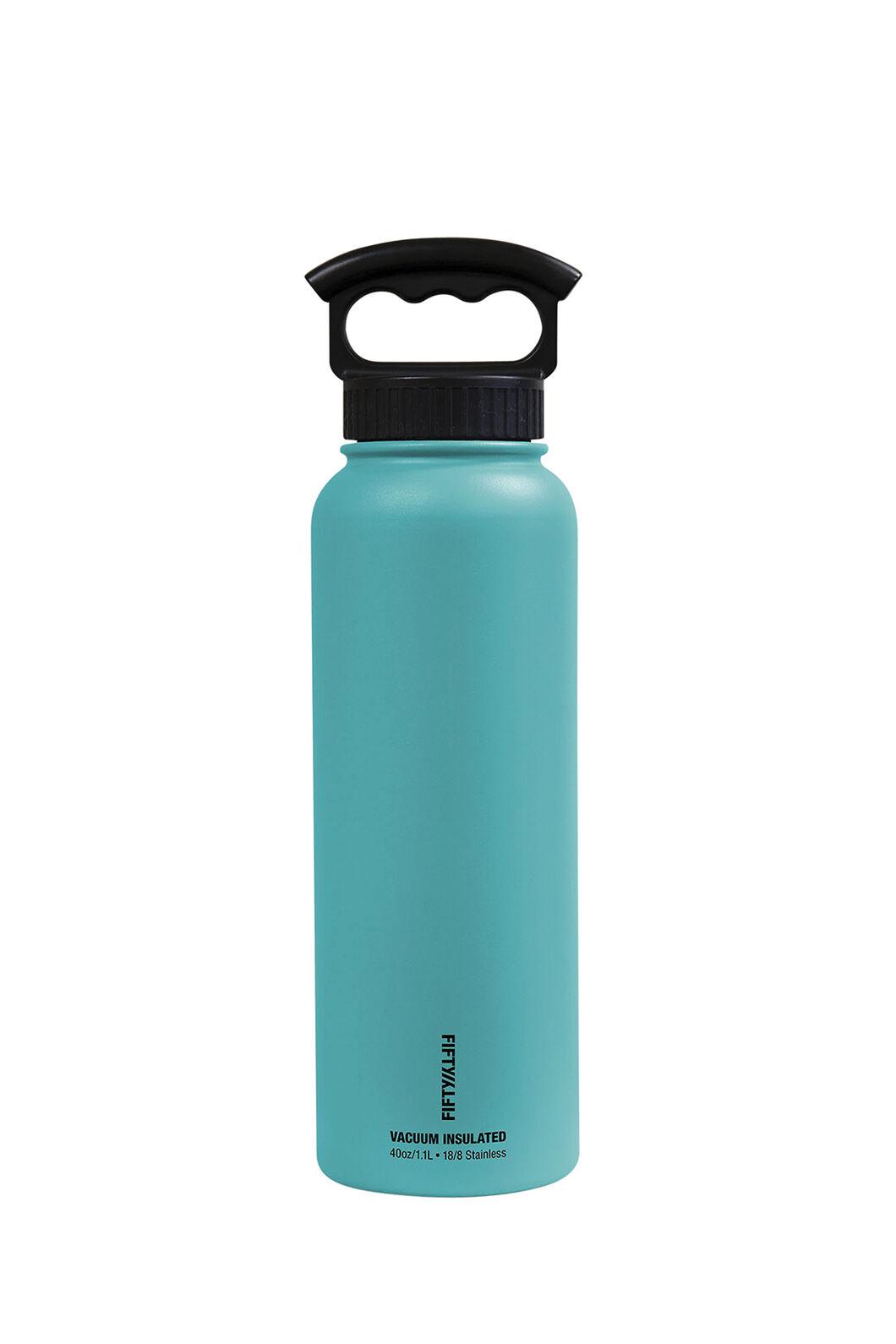 FIFTY/FIFTY® 40oz Insulated Bottle, Aqua, hi-res