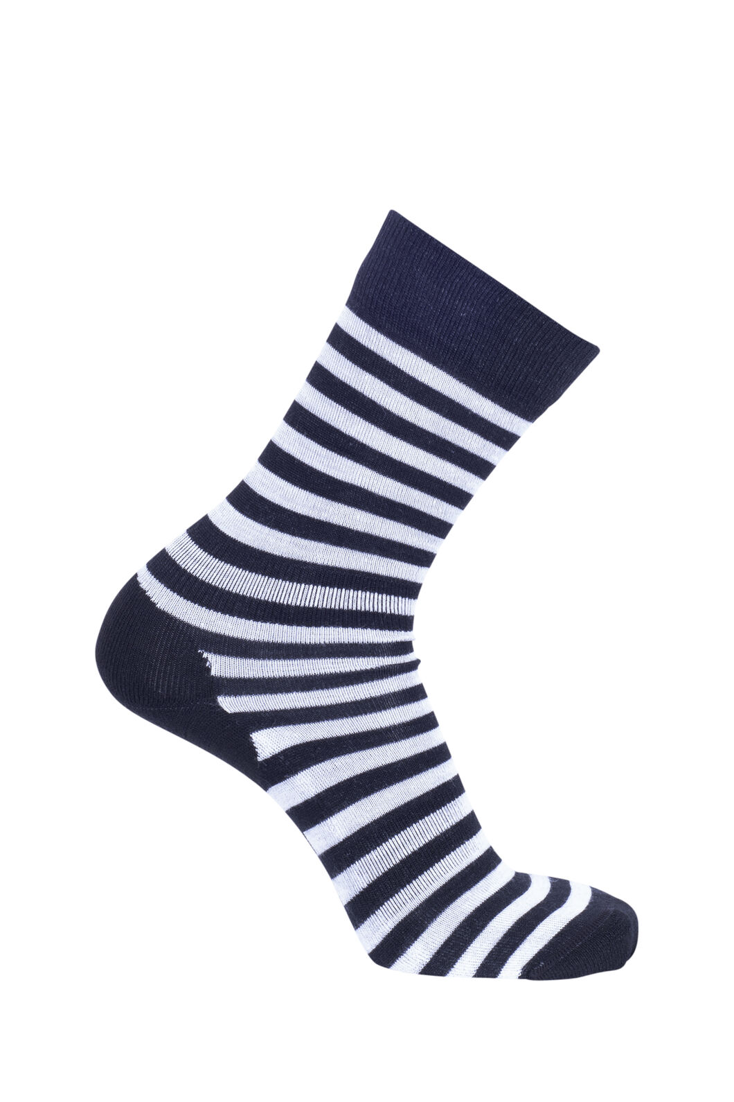 Macpac Footprint Sock, Black Stripe, hi-res