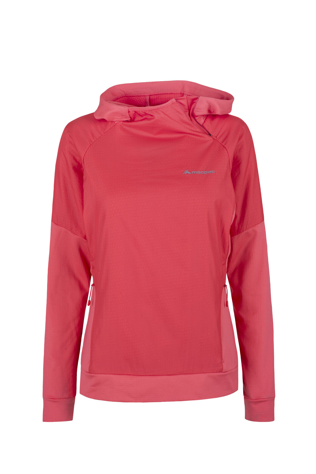 Macpac Saros Polartec® Alpha® Pullover - Women's, Rose of Sharon, hi-res