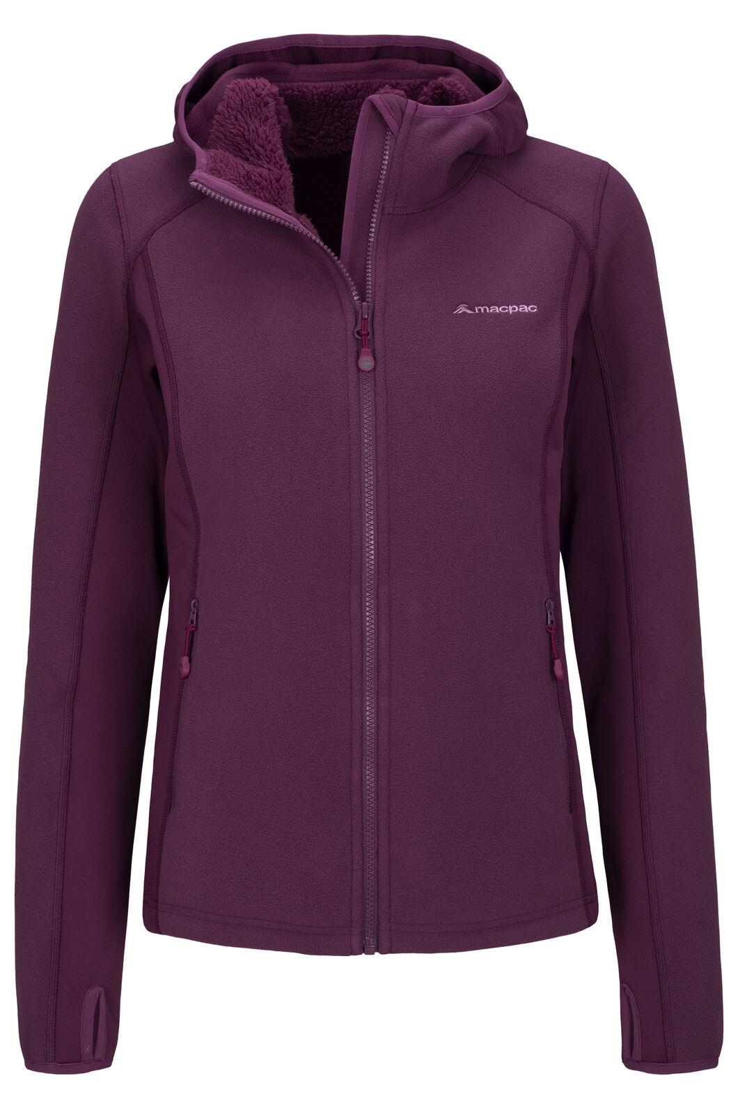 Macpac Mountain Hooded Jacket — Women's, Amaranth, hi-res