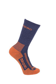 Macpac Trekking Socks Kids', Navy/Puffins Bill, hi-res
