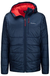 Macpac Pulsar PrimaLoft® Hooded Jacket — Men's (V3), Total Eclipse, hi-res