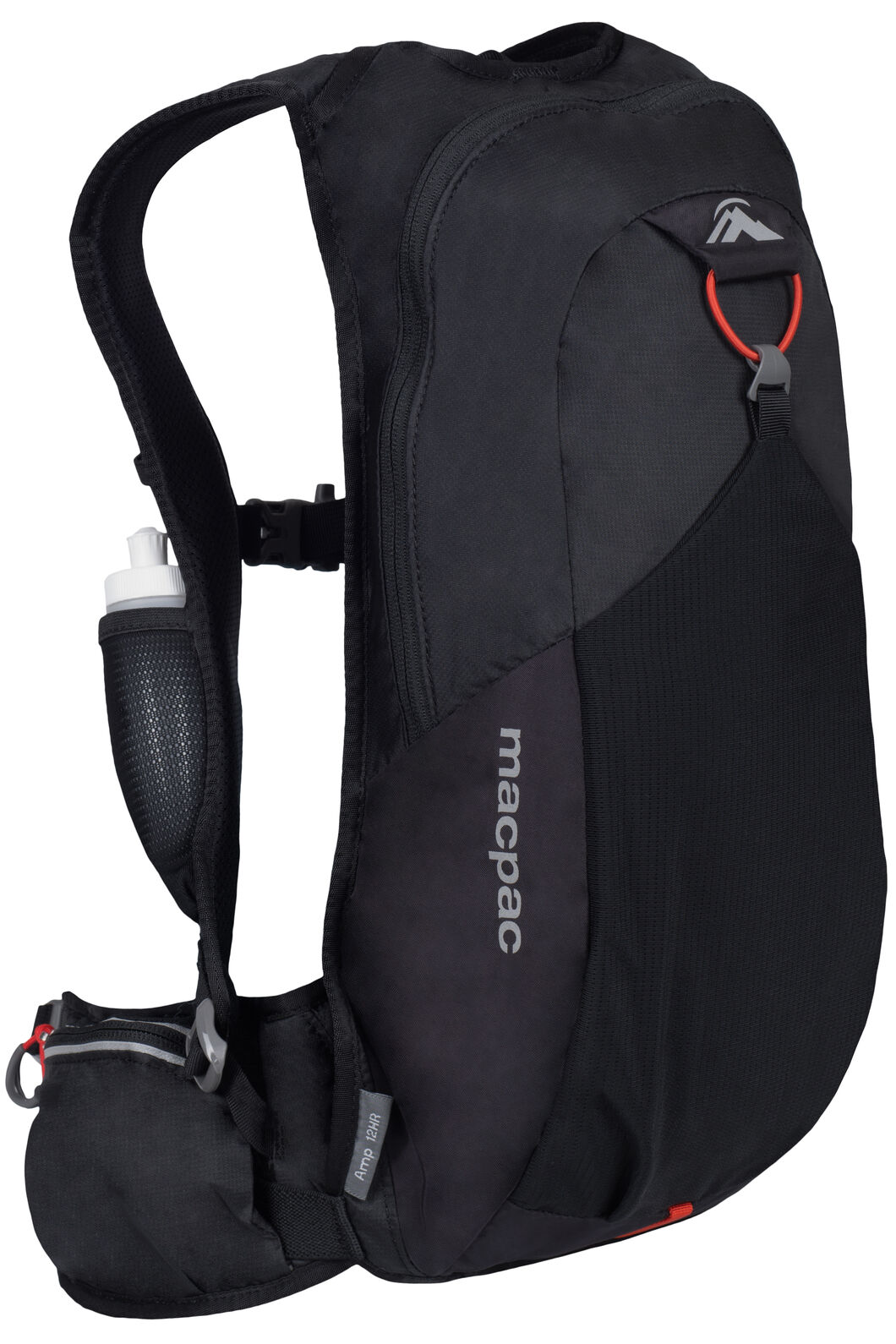 Macpac Amp 12Hr 7L Running Pack, Black, hi-res