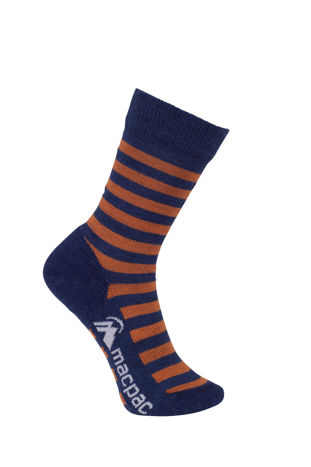 Macpac Footprint Socks Kids', Medieval/Puffins Bill, hi-res