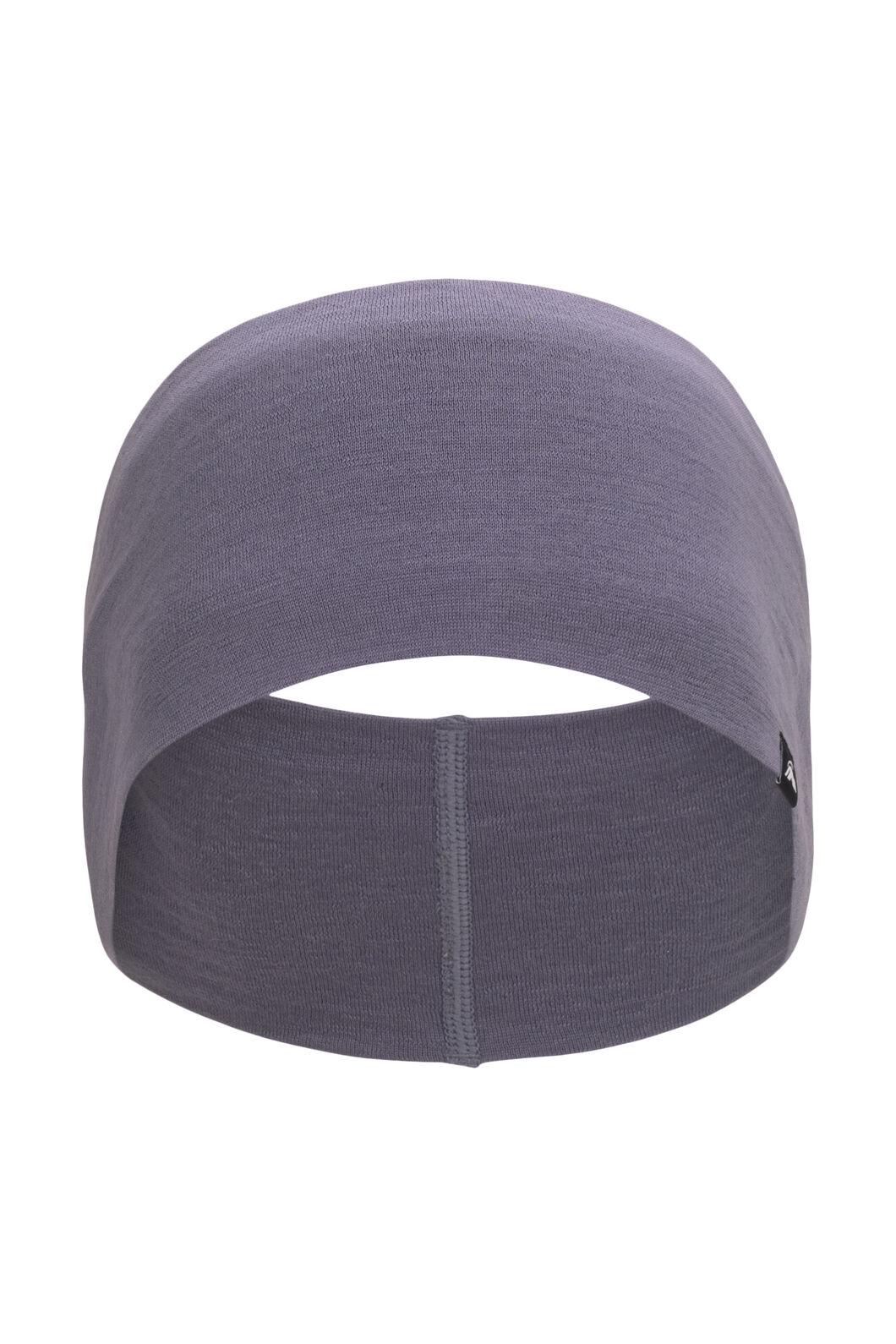 Macpac 150 Merino Headband, Blue Granite, hi-res