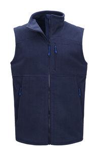 Macpac Men's Dunstan Fleece Vest, Black Iris, hi-res