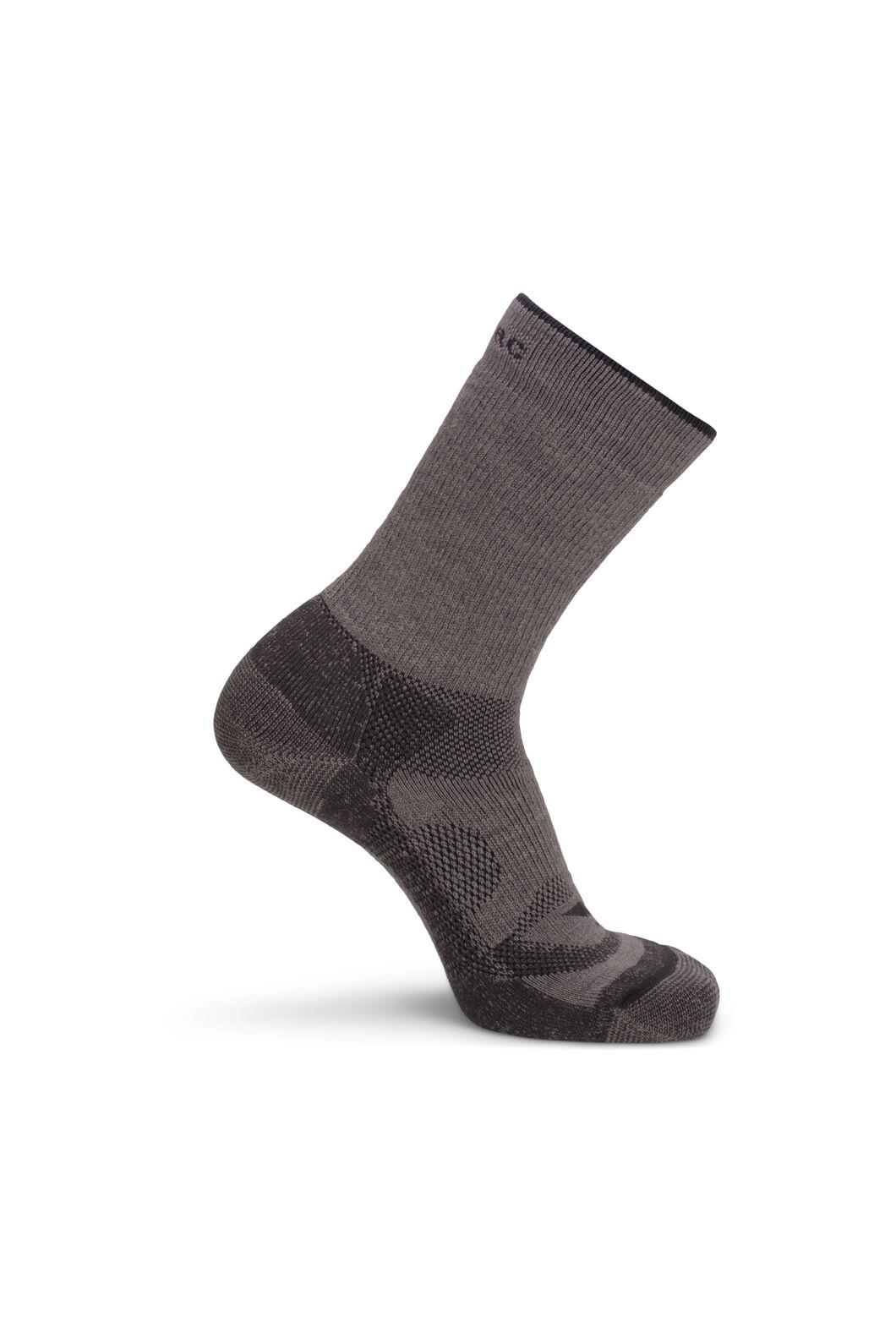 Macpac Merino Hiking Sock, Fallen Rock, hi-res