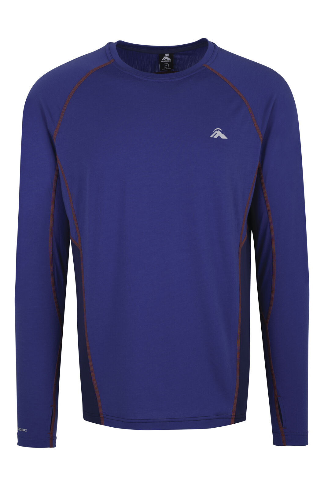 Casswell Long Sleeve Merino Crew - Men's, Sodalite Blue, hi-res