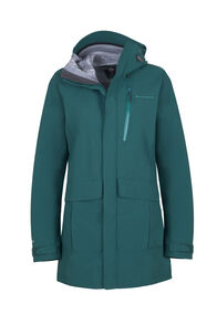 Macpac Copland Long Rain Jacket — Women's, Storm, hi-res