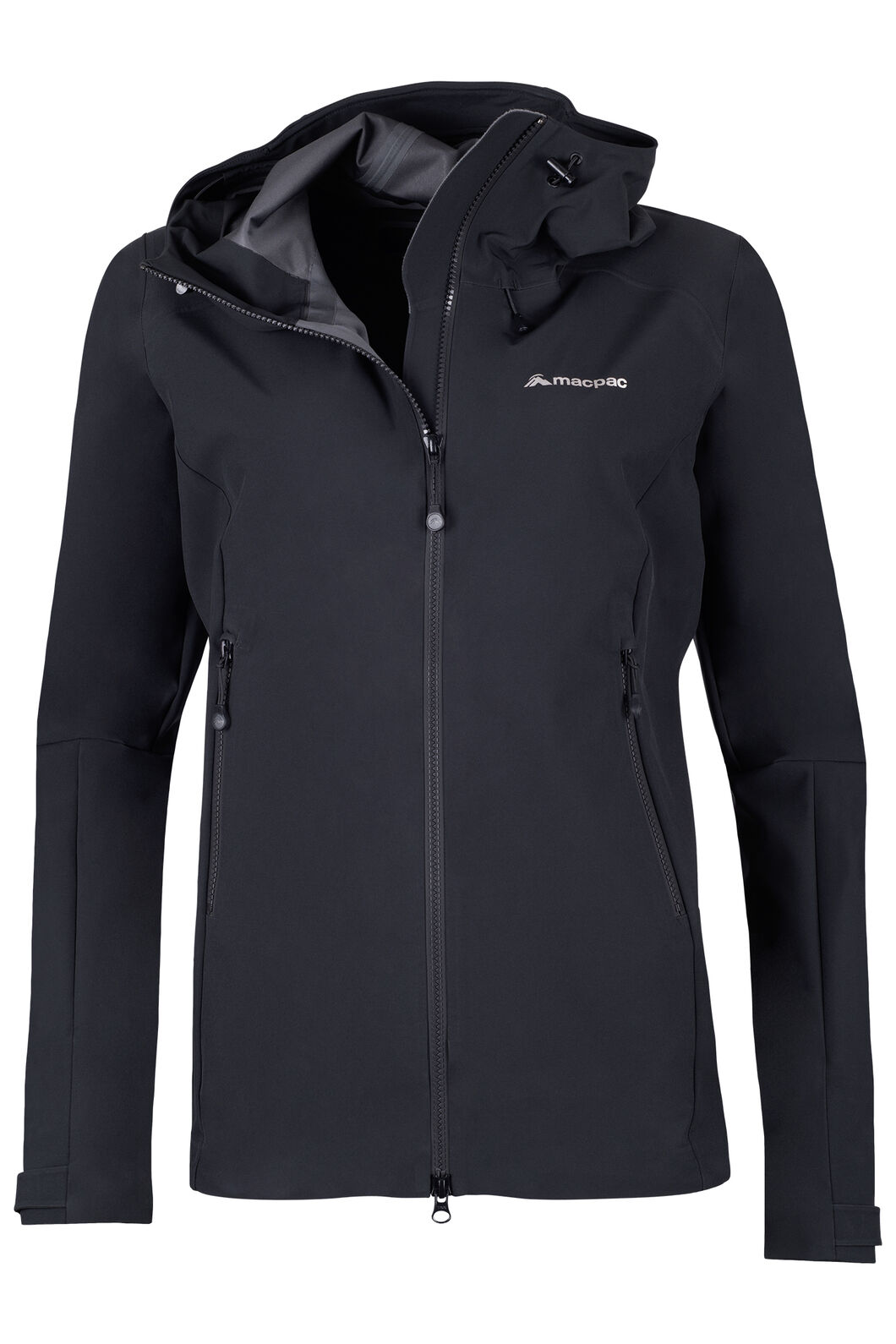 Fitzroy Alpine Series Softshell Jacket - Women's, Black, hi-res
