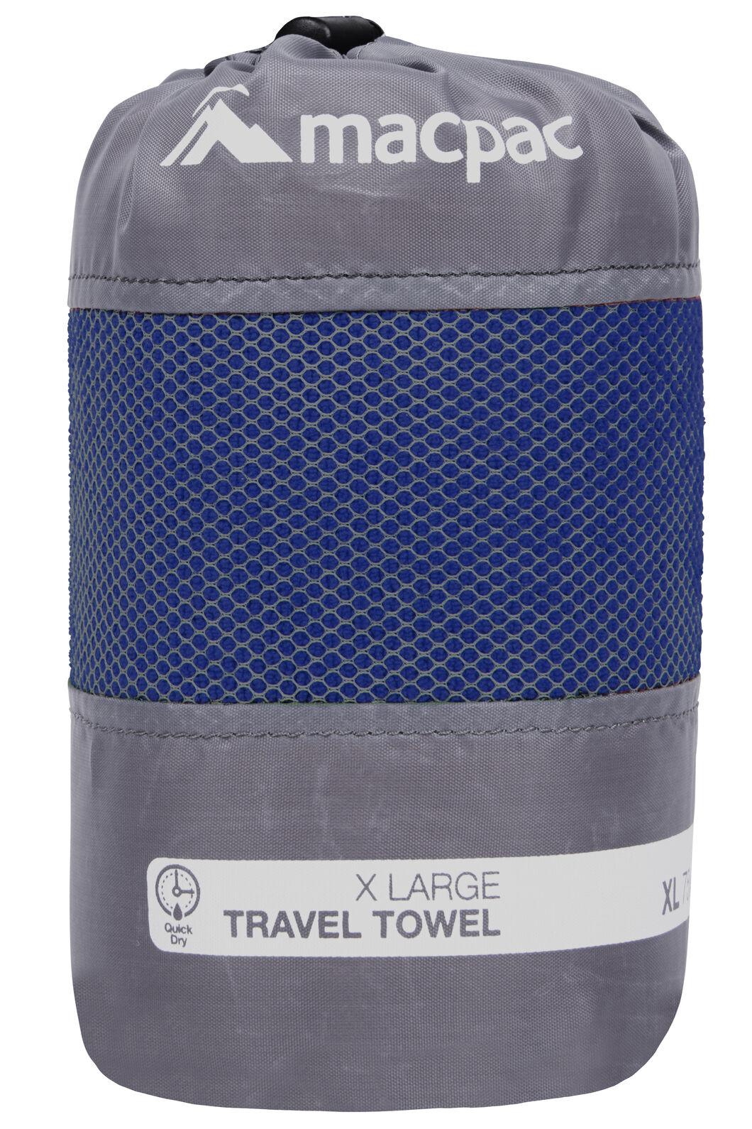 Macpac Travel Towel XL, Sodalite Blue, hi-res