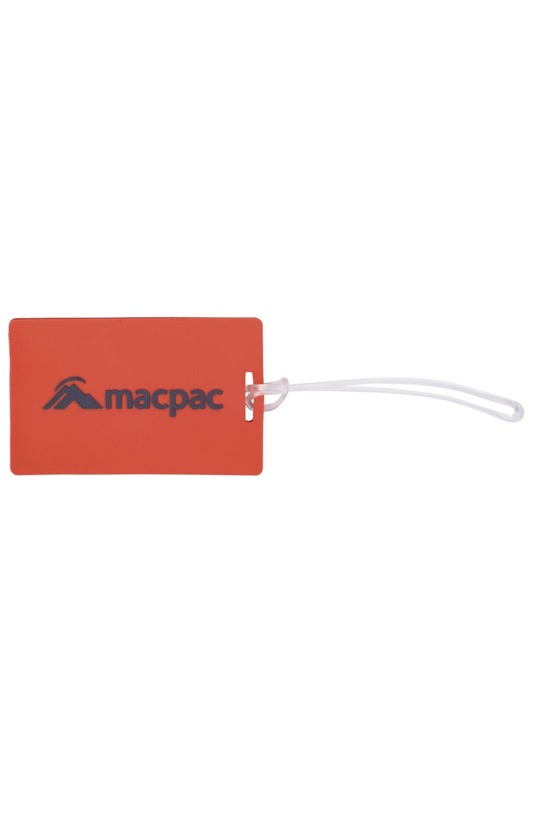 Macpac Luggage Tags — 2 Pack, Orange, hi-res