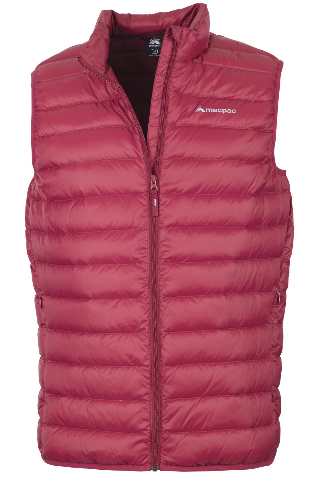 Uber Light Down Vest - Men's, Biking Red, hi-res