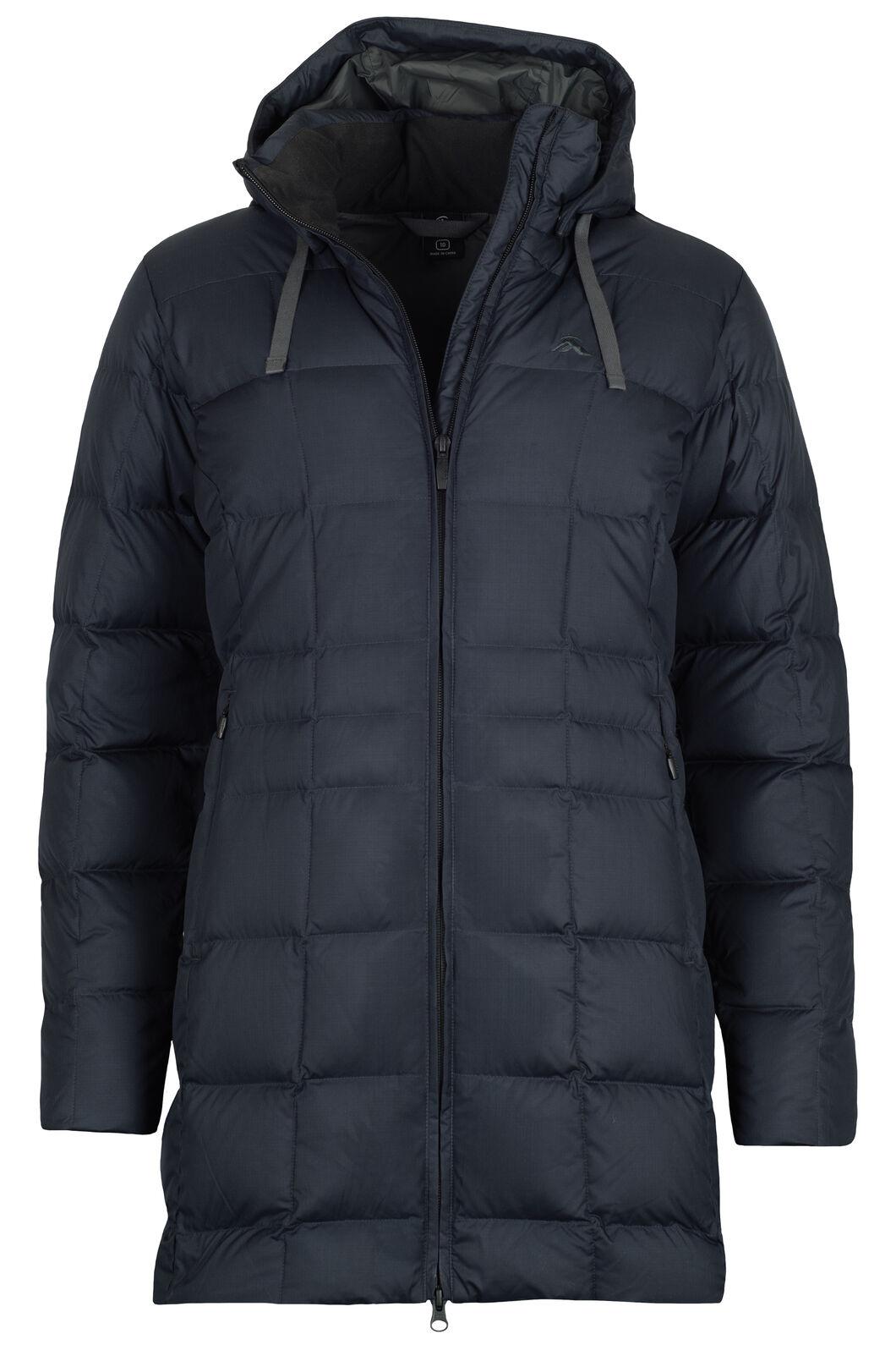 Aurora Down Coat V3 - Women's, Carbon, hi-res