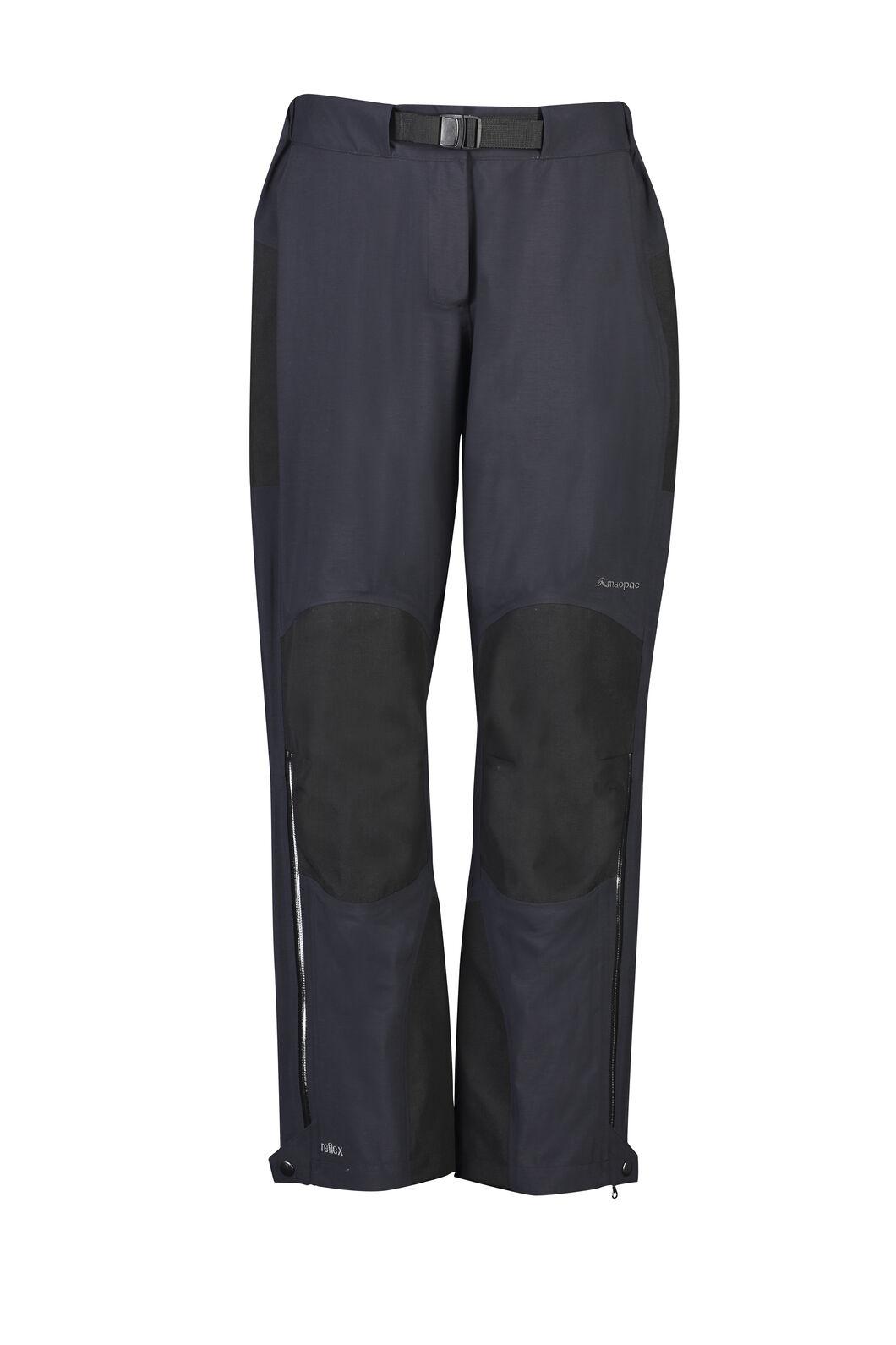 Macpac Gauge Reflex™ Rain Pants — Women's, Black, hi-res