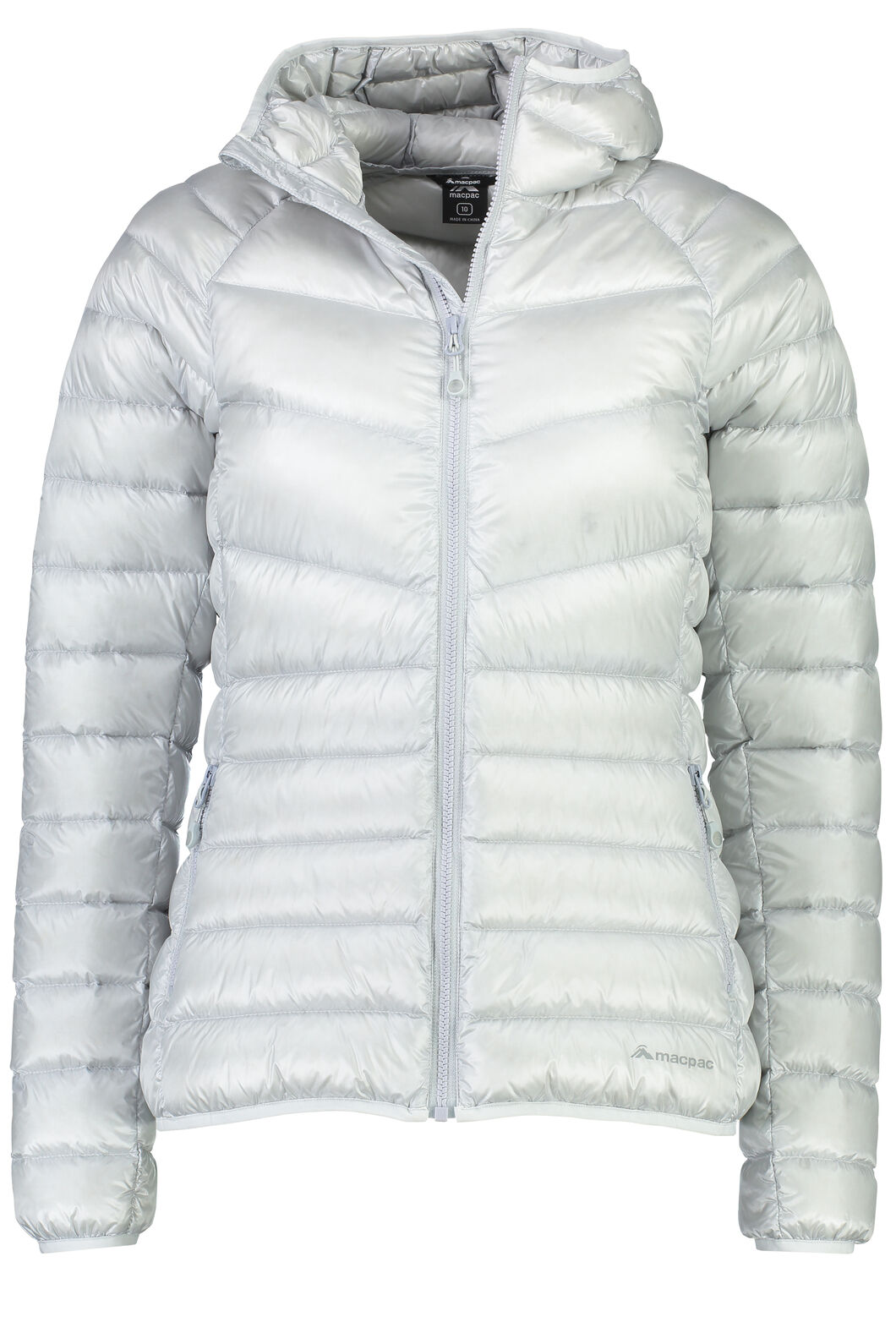 Macpac Mercury Down Jacket - Women's, Pearl, hi-res