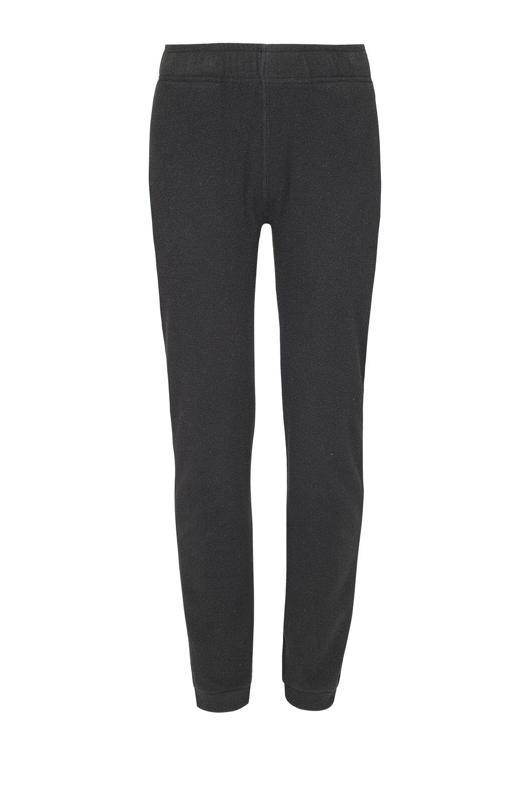 Macpac Tui Polartec® Fleece Pants — Kids', Black, hi-res