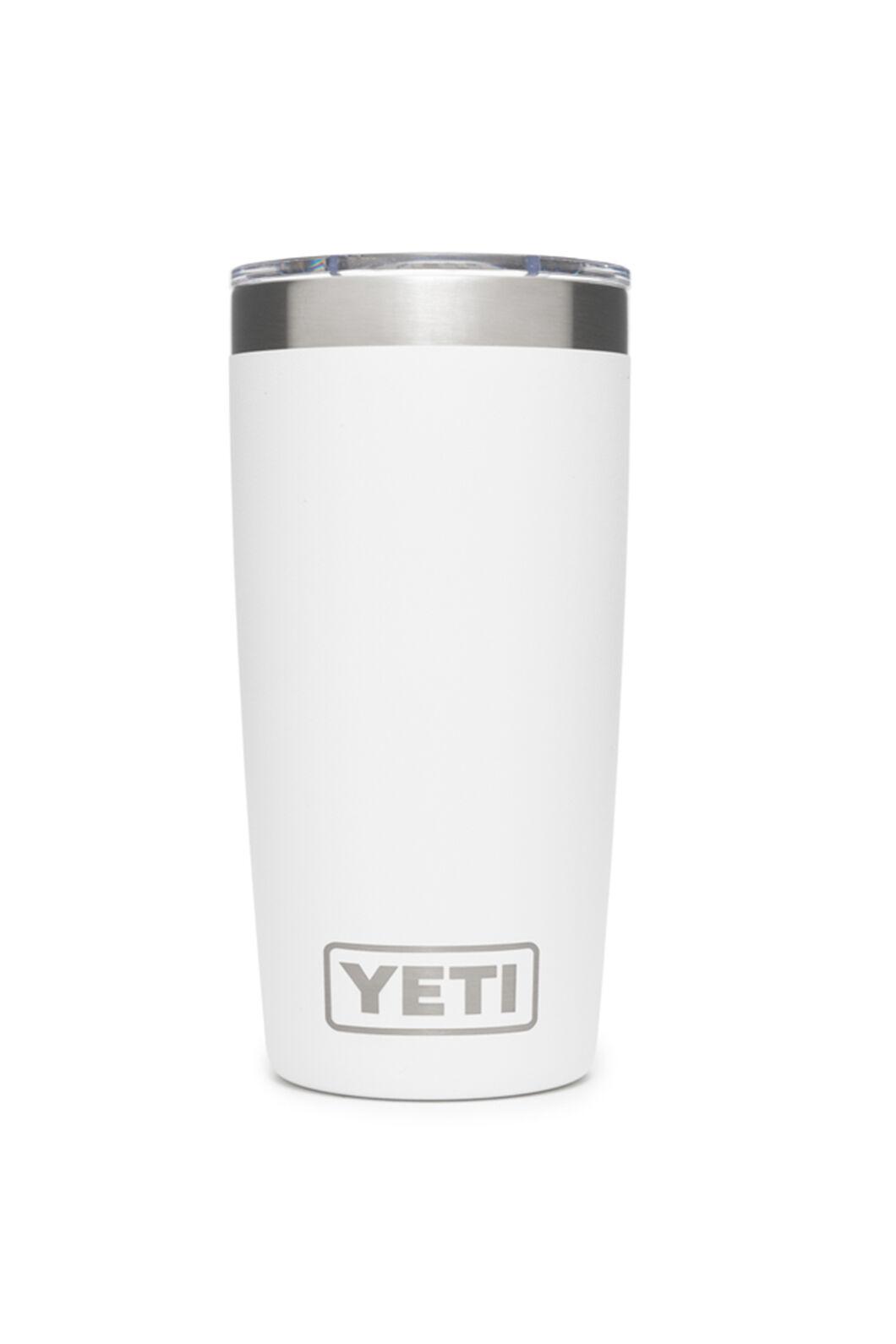 YETI® Rambler Tumbler With MagSlider Lid — 10oz, White, hi-res