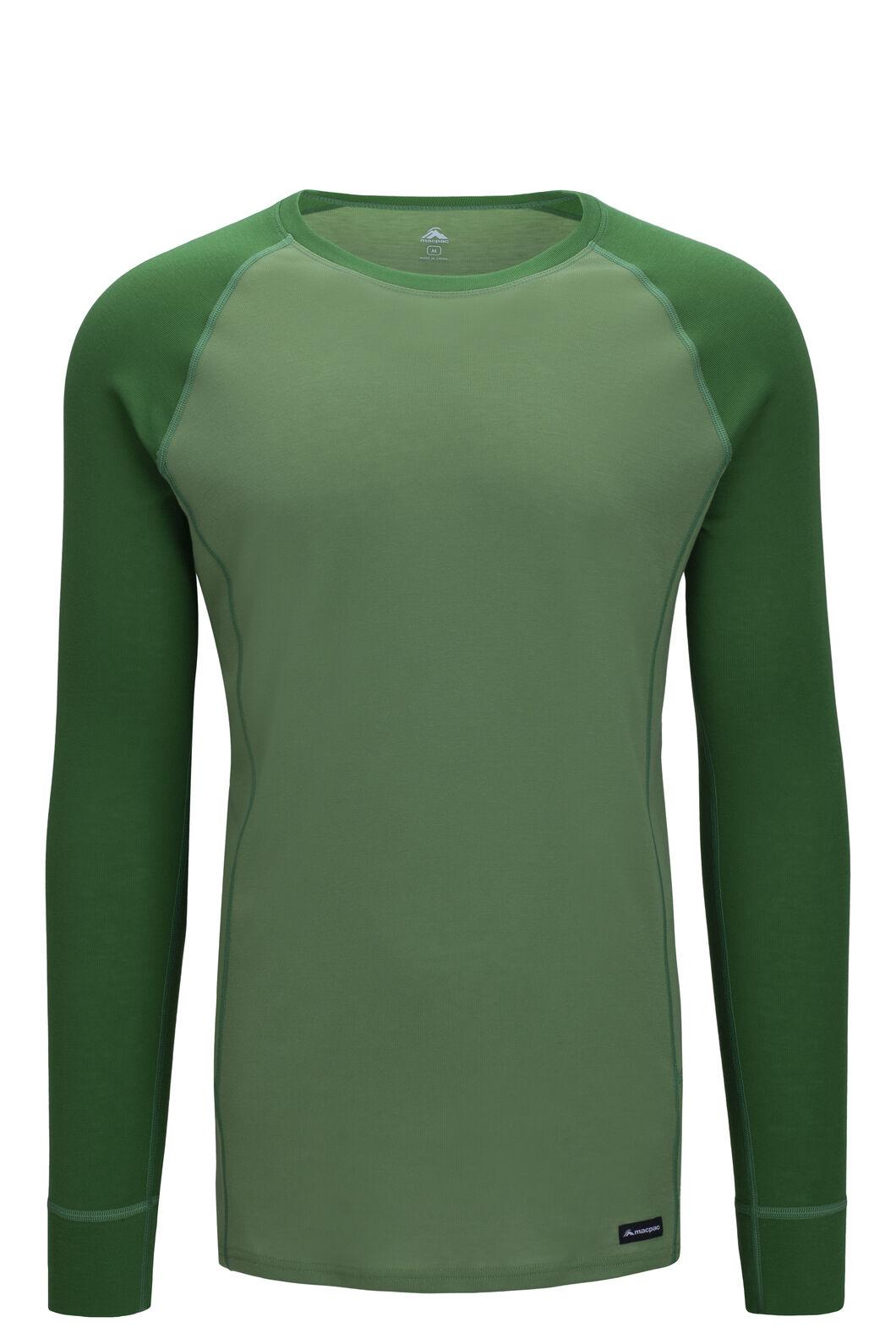 Macpac Geothermal Long Sleeve Top — Men's, Juniper/Jade Green, hi-res