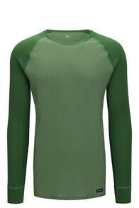 Macpac Men's Geothermal Long Sleeve Top, Juniper/Jade Green, hi-res
