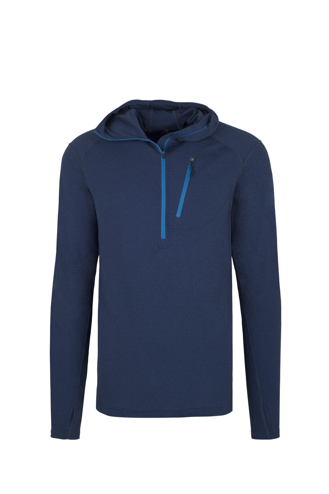 Macpac ProThermal Hooded Top - Men's, Medieval Blue, hi-res