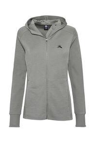 Macpac Ohau 320 Merino Hooded Jacket — Women's, Vetiver, hi-res