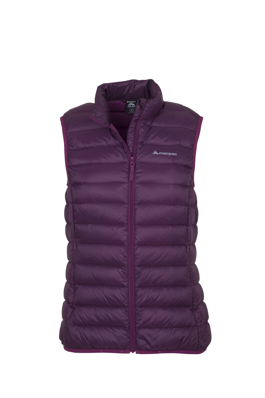 Macpac Uber Light Down Vest - Women's, Potent Purple, hi-res