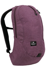 Macpac Kahuna 18L Urban Backpack, Fig, hi-res